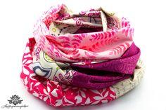 Loop von Lieblingsmanufaktur: Farbenfrohe Loop Schals, Tücher und mehr auf DaWanda.com