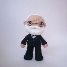 Amigurumi Beard : Crochet Artists and other historical characters on ...