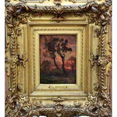 """Уокер на рассвете"" Demont Adrien (1851 - 1928)"