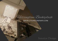 Herringbone Backsplash, Interior Design Photos