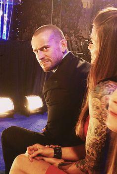 CM Punk and Lita @ HOF