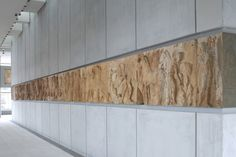 Image 10 of 25 from gallery of New Acropolis Museum / Bernard Tschumi Architects. Museum Architecture, Interior Architecture, Bernard Tschumi, Museum Studies, Athens Greece, Archaeological Site, Ancient Greece, British Museum, Greece