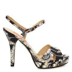 Kate Spade Japanese Floral Heels