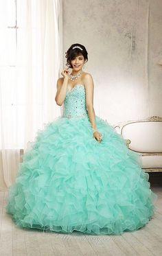 Debutante Free Shipping Vestido de Noiva Sweet 16 Dress Light Pink/Green Ball Gowns Quinceanera Dresses 2014