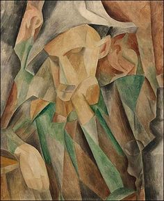 Pablo Picasso, 1909, Harlequin (L'arlequin) - Picasso's African Period - Wikipedia, the free encyclopedia