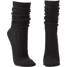 Charlotte Russe Burgundy Ribbed Slouchy Boot Socks by Charlotte Russe... ($6.99) ❤ liked on Polyvore featuring intimates, hosiery, socks, accessories, black, shoes, burgundy, mid calf socks, slouchy socks and charlotte russe