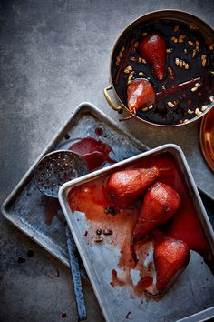 Poached Pears by Lew Robertson Photography