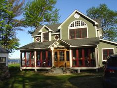 Country Home Exterior Color Schemes love this house! changing the color of the exterior of our home