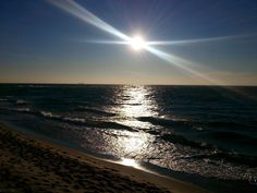 this is how low the Sun is at noon at the end of December in Poland #sun #noon #midday #poland #Hel #beach #baltic #sea