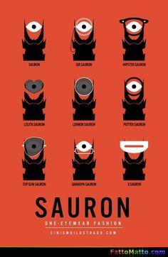 Fashion Sauron - via FattoMatto.com - #FattoMatto