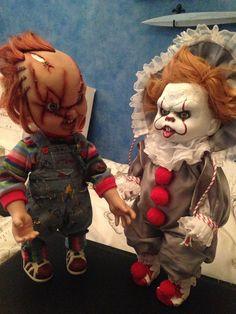 Halloween Doll, Halloween Horror, Fall Halloween, Halloween Crafts, Halloween Makeup, Horror Icons, Horror Films, Horror Art, Scary Baby Dolls