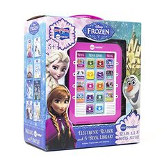 Disney - Frozen Me Reader Electronic Reader and 8 Book Library - Pi Kids Frozen Free, Frozen Merchandise, Reading Adventure, Early Readers, What Book, Disney Frozen, Disney Pixar, Read Aloud, The Help