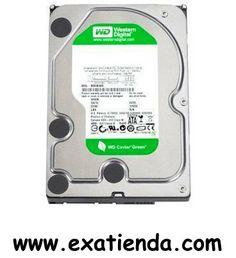 """Ya disponible Disco wd 2tb SATA3 caviar green   (por sólo 98.95 € IVA incluído):   -Interfaz:Serial ATA III 6 Gb/s -Capacidad:2 TB -Tamaño búfer/cache:64 MB -Tiempo de búsqueda:n/a -Latencia media:4.20 ms -Velocidad de rotación:5,400 RPM -Formato: 3.5""""  Garantía de 24 meses.  http://www.exabyteinformatica.com/tienda/202-disco-wd-2tb-sata3-caviar-green #disco #exabyteinformatica"""