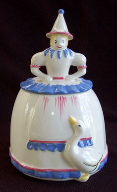 Mother Goose Cookie Jar / Abingdon | eBay