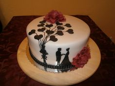 Tortoise at the wedding. by Jannette - http://cakesdecor.com/cakes/300759-tortoise-at-the-wedding