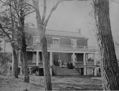 McLean house where General Lee surrendered. Appomattox Court House, Va., April 1865