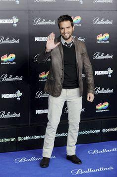 Pablo Alborán en los Premios 40 Principales #música #famosos #cantantes