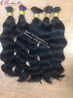 Mic Hair Thu: LOOSE WAVE BULK HAIR 100% HUMAN HAIR EXTENSIONS VIETNAMESE HAIR FROM MIC HAIR COMPANY