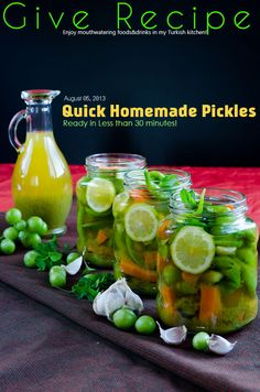Quick Homemade #Pickles