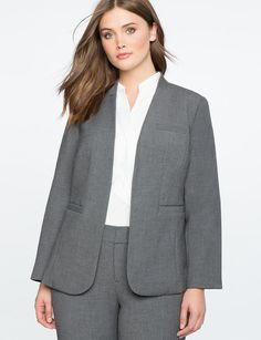 Charcoal Blazer that will be good for the office formal wear.  Just match it with a pair of nice slacks.#affiliatelink