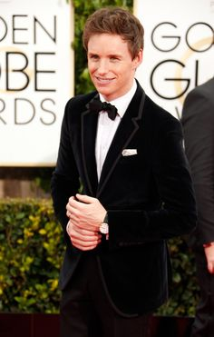 Pin for Later: Die heißesten Typen bei den Golden Globes Eddie Redmayne