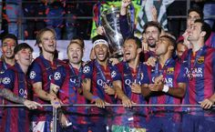 """10 jugadores del Barcelona en el equipo ideal de la Champions 2014-15 - La UEFA ha hecho oficial el nombre de 18 jugadores en lugar de elegir el clásico """"once ideal"""" de la Champions League en la edición que acaba de fina..."""