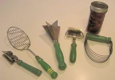 Vintage kitchen tools