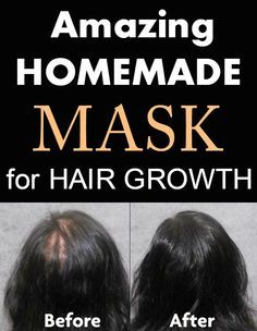 Amazing homemade mask for hair growth - TheBeautyMania.net