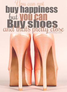 We love shoes as much as you do. Let's be friends.