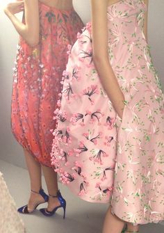 Backstage at Christian Dior Spring/Summer 2013 Couture during Paris Fashion Week.