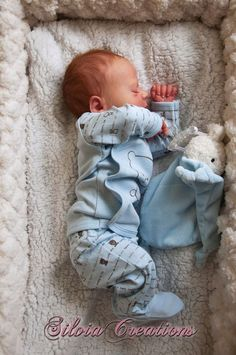 BB Realborn® Thomas Asleep - by Silvia Ezquerra Reborn Babies For Sale, Reborn Dolls For Sale, Baby Dolls For Sale, Reborn Baby Boy Dolls, Life Like Baby Dolls, Life Like Babies, Real Baby Dolls, Reborn Doll Kits, Realistic Baby Dolls