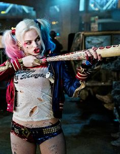 """""""Harley Quinn, nice to meetcha! Love your perfume. What is that? Stench of Death?"""" 