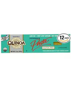 Ancient Harvest Quinoa pasta...love this stuff. Better than regular spaghetti.