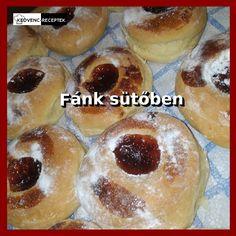 Kíváncsi vagy rá, hogyan lehet sütőben isteni puha fánkot sütni? Nézd meg a receptet! #fánk #üti #sütemény #farsang #recept Doughnut, Hamburger, Bread, Food, Brot, Essen, Baking, Burgers, Meals