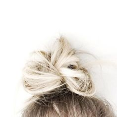 10 Beach Hairstyle for Summer 2015 - Messy top knot