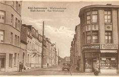 Antwerpen-Kiel, de Werbrouckstraat gefotografeerd vanaf de Sint Bernardsesteenweg, jaren 1920?