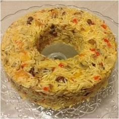 Iranian Rice with Spices & Dried-Fruits-Vegetables! Greek Recipes, Rice Recipes, Side Dish Recipes, Veggie Recipes, Snack Recipes, Dessert Recipes, Cookbook Recipes, Cooking Recipes, My Favorite Food