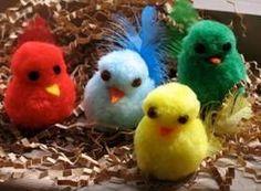 pom pom birds