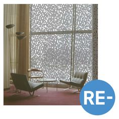 U.N. North Delegates' Lounge – Knots & Beads Curtain
