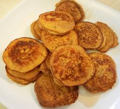 Pumpkin Protein Pancakes... looking forward to that!