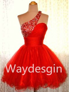 Aliexpress.com : Buy Short One Shoulder Prom Dresses,Evening Dresses, Custom Made Party Dresses,Homecoming Dresses from Reliable dresse suppliers on simplestdress