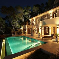Luxury Home with a pool