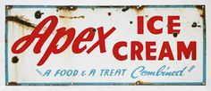 1940s ice cream signs - Google Search