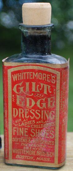 gilt edge shoe dressing