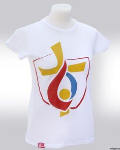 Koszulka męska biała ŚDM Kraków 2016 Światowe Dni Młodzieży
