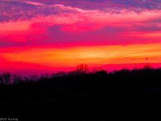 royal purple sunset