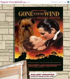 """Gone With the Wind with """"Special Guest Star"""" Brussel Griffin"""