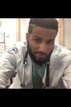 ooooh, my god, he is so yummy  God bless him lol& he's a doctor!