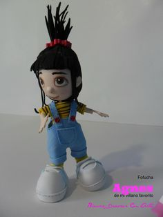 Agnes escultura de foamy