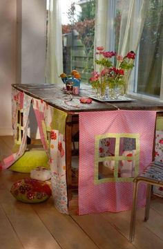 easy under the table cubby house